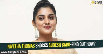 Nivetha Thomas shocks Suresh Babu-find out how