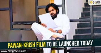 Pawan-Krish film to be launched today