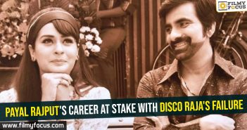 Payal Rajput's career at stake with Disco Raja's failure
