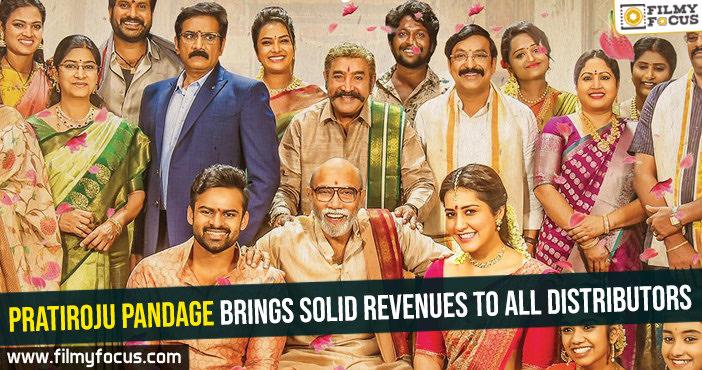 Pratiroju Pandage brings solid revenues to all distributors