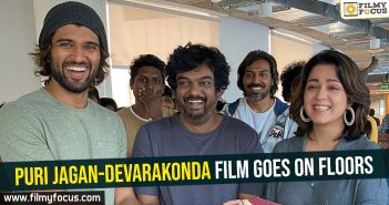 Puri Jagan-Devarakonda film goes on floors