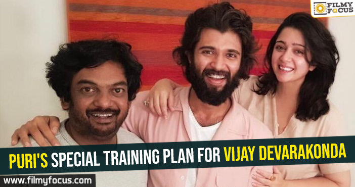 Puri's special training plan for Vijay Devarakonda