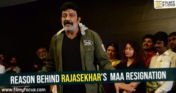 Reason behind Rajasekhar's MAA resignation
