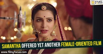 Samantha offered yet another female-oriented film