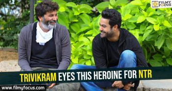 Trivikram eyes this heroine for NTR