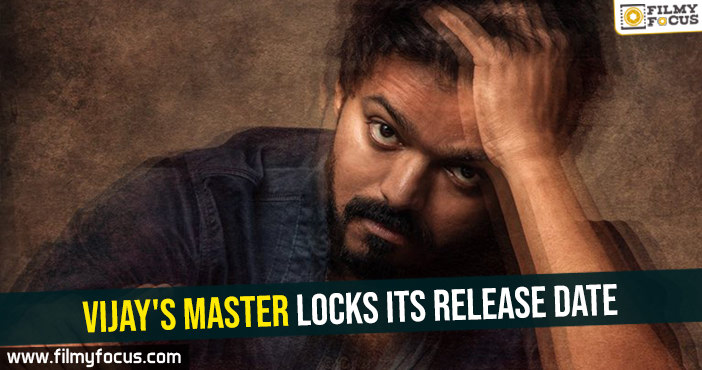Vijay's Master locks its release date