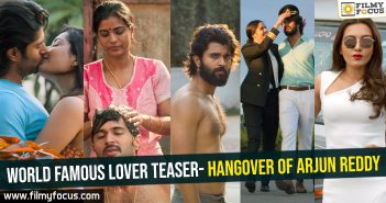 World Famous Lover teaser- Hangover of Arjun Reddy