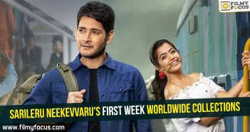 Sarileru Neekevvaru's first week worldwide collections