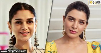 Aditi Rao Hydari replaces Samantha in Maha Samudram