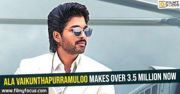 Ala Vaikunthapurramuloo makes over 3.5 million now