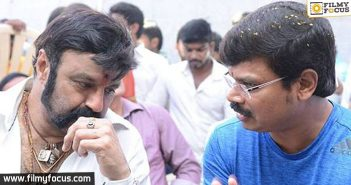 Balakrishna is unhappy with Boyapati Srinu's film