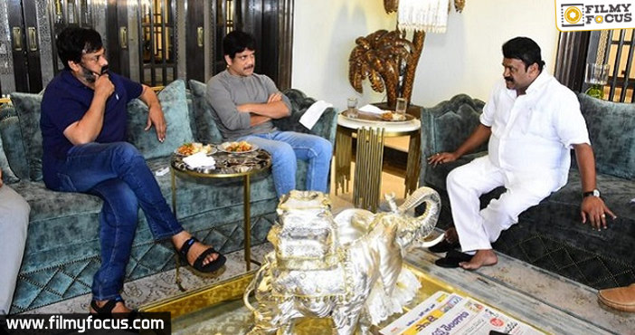 Chiranjeevi's bungalow becomes a talking point