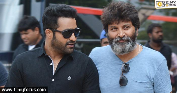 Jr NTR signs his 30th film with Trivikram Srinivas