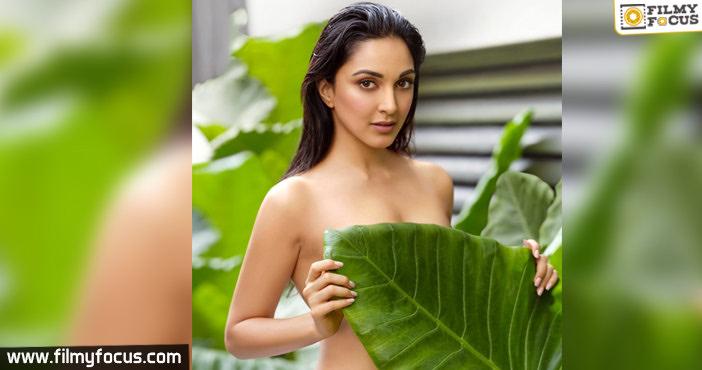 Kiara Advani rocks the Internet with her topless photo