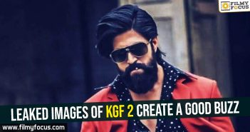 Leaked images of KGF 2 create a good buzz