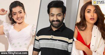 Rashmika or Pooja Hegde Who will romance Jr NTR