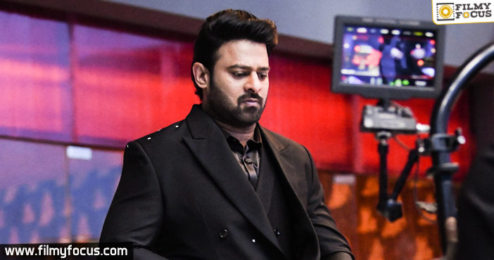 Two massive sets being readied for Prabhas20