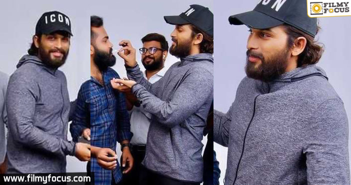 Allu Arjun's new look breaking the internet - Filmy Focus