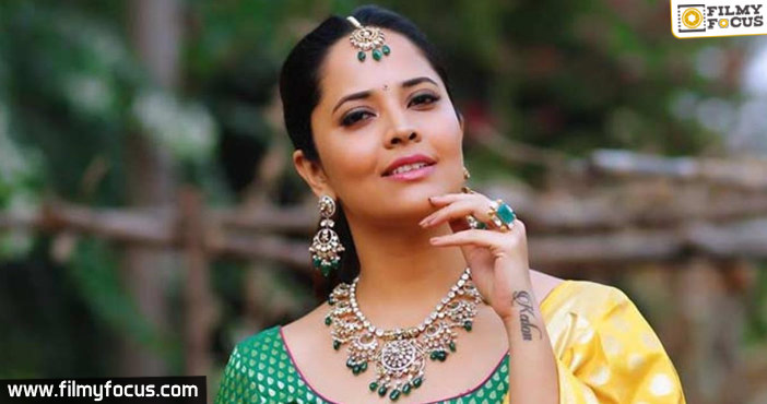 Anasuya in talks for yet another big film