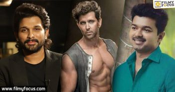 Hrithik Roshan is all praises for Allu Arjun and Vijay