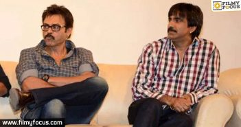 It's Venkatesh vs Ravi Teja in theatres