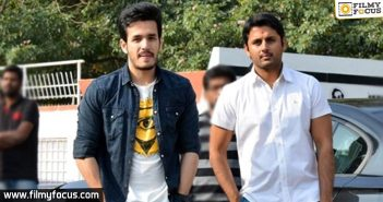 It's Nithiin and Akhil for the second time