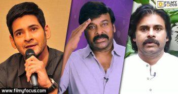 Mahesh Babu, Chiranjeevi and Pawan Kalyan bat for Janata Curfew