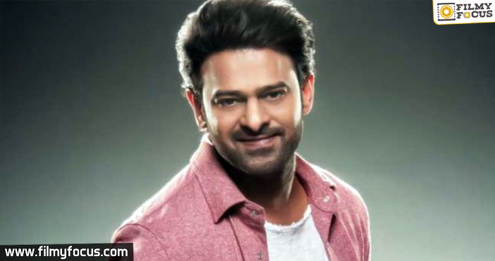 New title in consideration for Prabhas's next