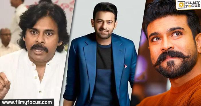 Pawan Kalyan, Prabhas, Charan donate big for Corona relief