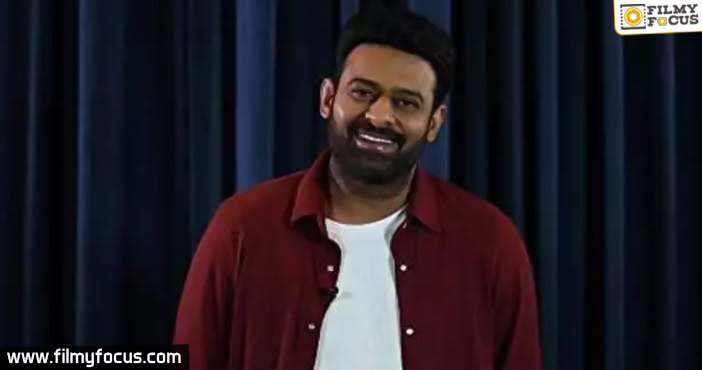Prabhas's next to be shot indoors completely