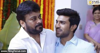 Ram Charan warns his dad to be careful