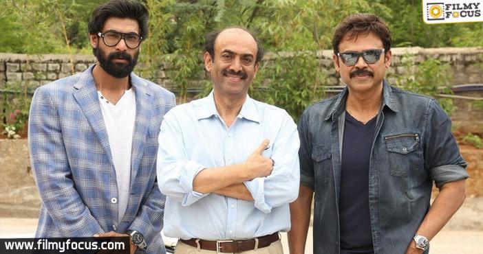 Suresh Babu, Venkatesh, Rana 1 Cr Financial Aid To Cine, Healthcare Workers