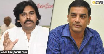 Vakeel Saab- Pawan gives special instructions to Dil Raju