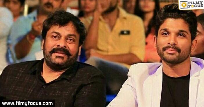 Allu Arjun is not doing film with Chiranjeevi