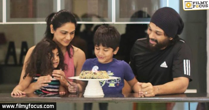 Allu Arjun shares an emotional post on his son's birthday