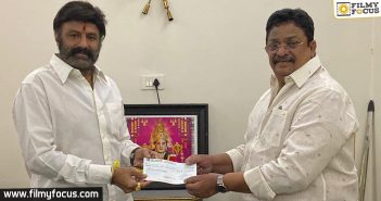 Balayya comes forward and donates big for Corona relief