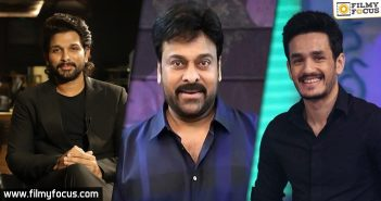 Chiranjeevi's wishes to Bunny and Akhil wins hearts