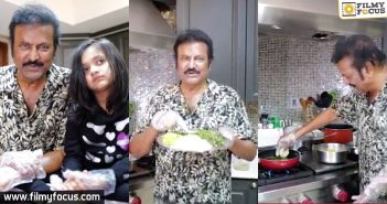 Mohan Babu gives you a delicious surprise