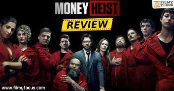Money Heist Webseries Review