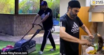 Venky Mama does it like his everyday job