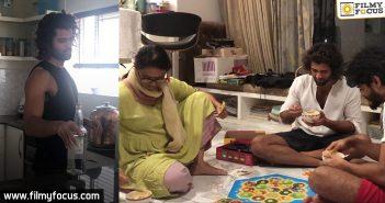 Vijay Devarakonda shares the Be Real Man video in his style