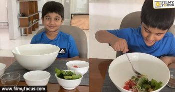 Allu Ayaan Turns A Chef