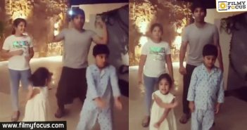 Allu Sirish And Kids Groove In This Cute Video