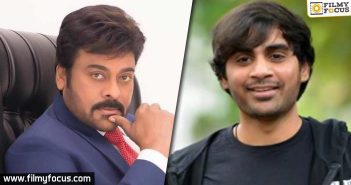 Chiranjeevi Asked Sujeeth To Come Up With Better Changes