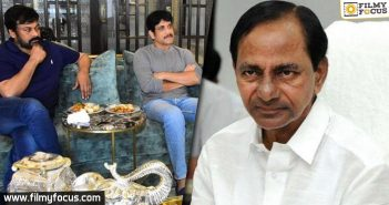 Chiru And Nag Met Kcr About Film Industry Re Opening Post Lockdown