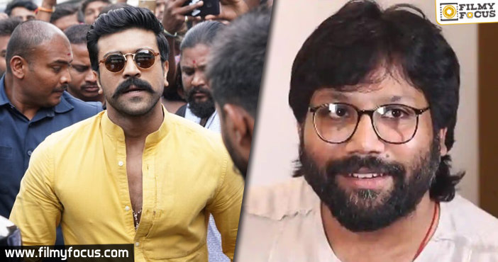 Is Ram Charan In Discussion With Arjun Reddy Director