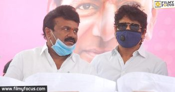 Nagarjuna Thanks Talasani And Kcr For Constant Help