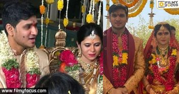 Nikhil Gets Married To His Lady Love