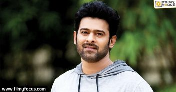 No Foreign Shoot For Prabhas Film