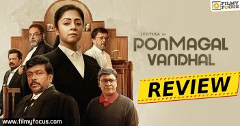 Ponmagal Vandhal Movie Review Eng
